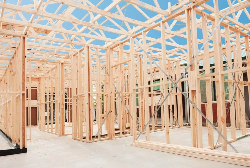 Timber vs steel frames for home building new living homes for Building a timber frame house