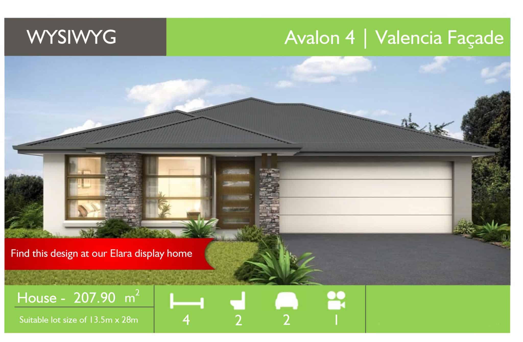 WYSIWYG Elara - Avalon 4 Valencia - Sydney Quick Qoute.xlsm