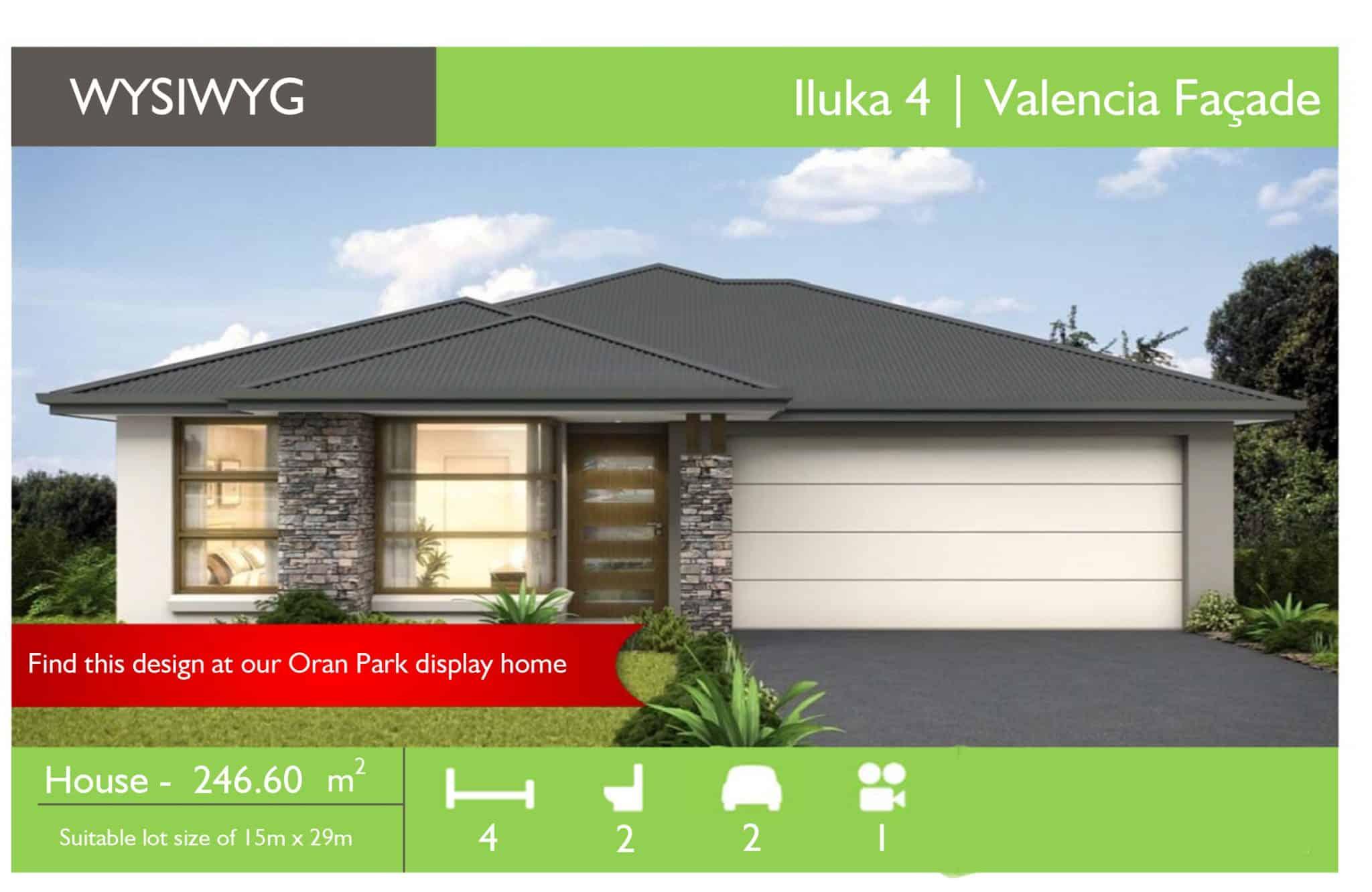 WYSIWYG Oran Park - Iluka 4 Valencia - Sydney Quick Qoute.xlsm