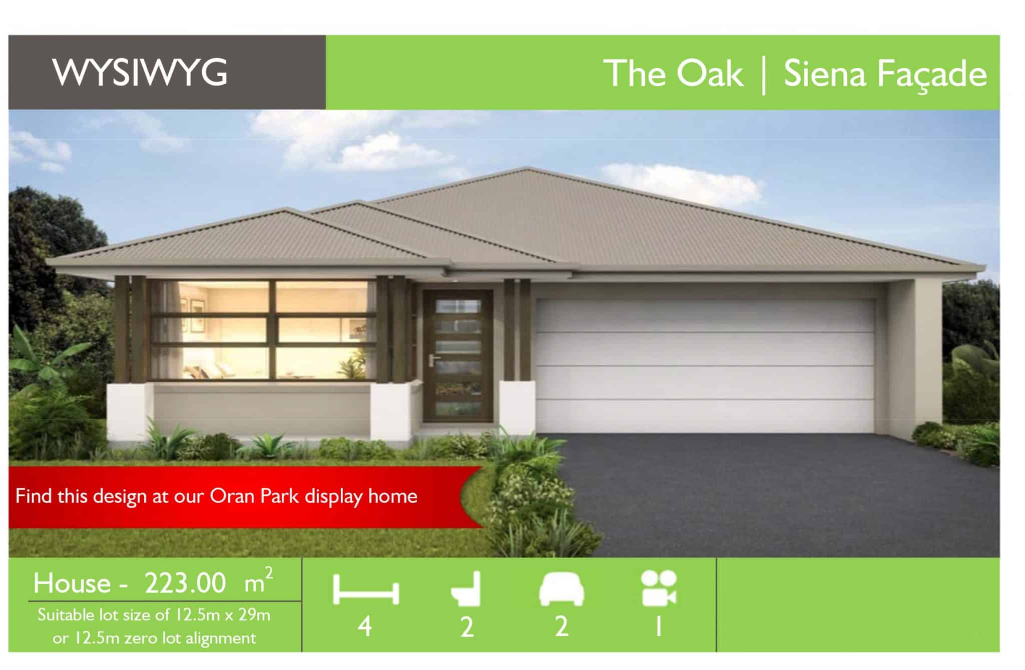 WYSIWYG Oran Park - The Oak Siena - Sydney Quick Qoute.xlsm