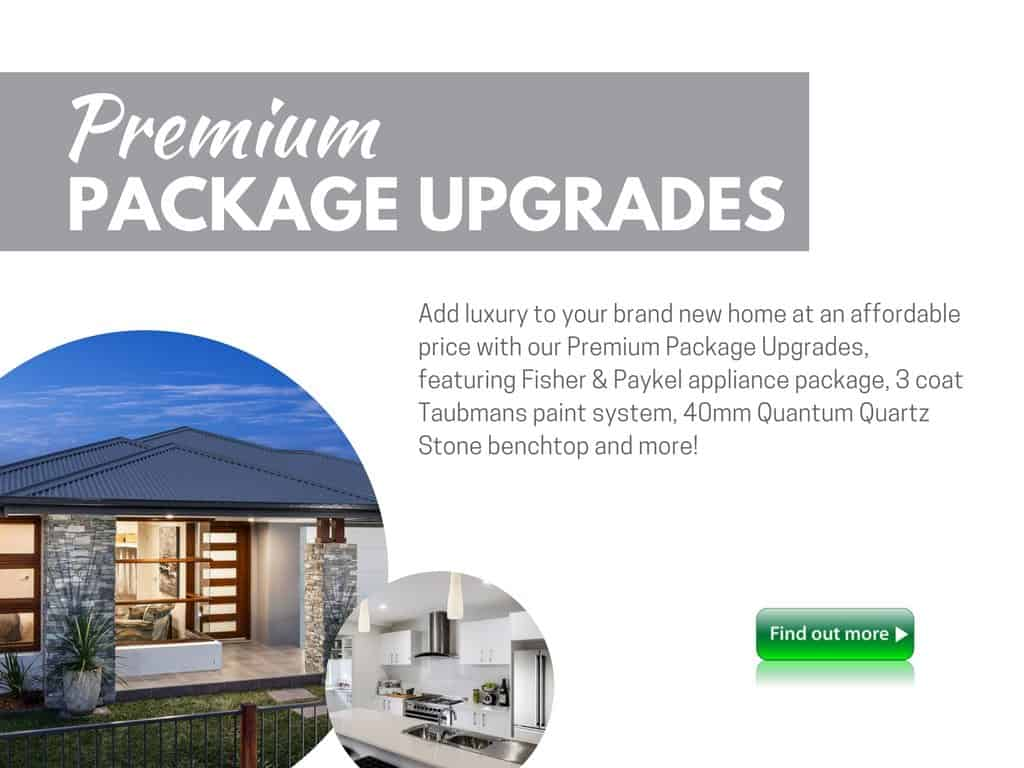 Premium Upgrades Package New Living Homes