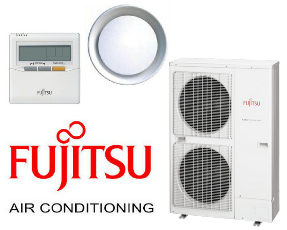 Fujitsu Air Conditioning_round duct