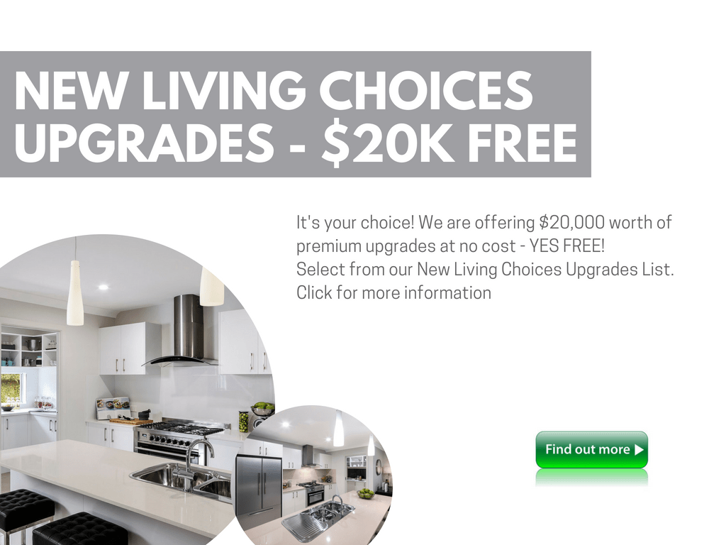 New Living Choices Upgrades _$20K free