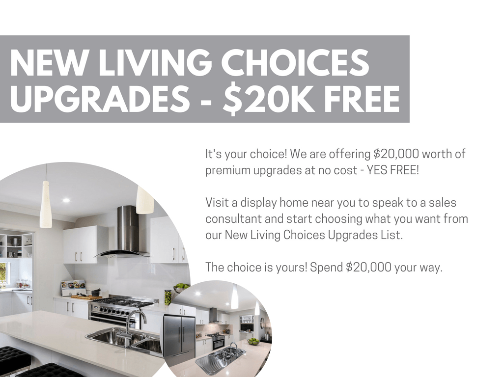 New Living Choices Upgrades